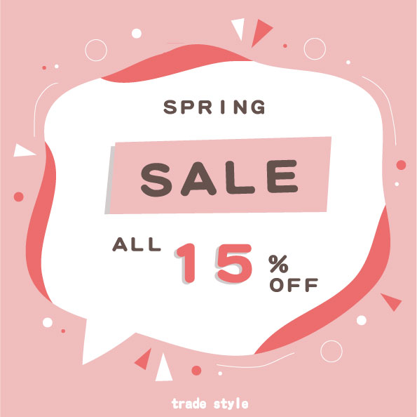 "<span class=""title"">【3/12~3/14】- SPRING SALE – 3日間限定!全品安くなる!</span>"
